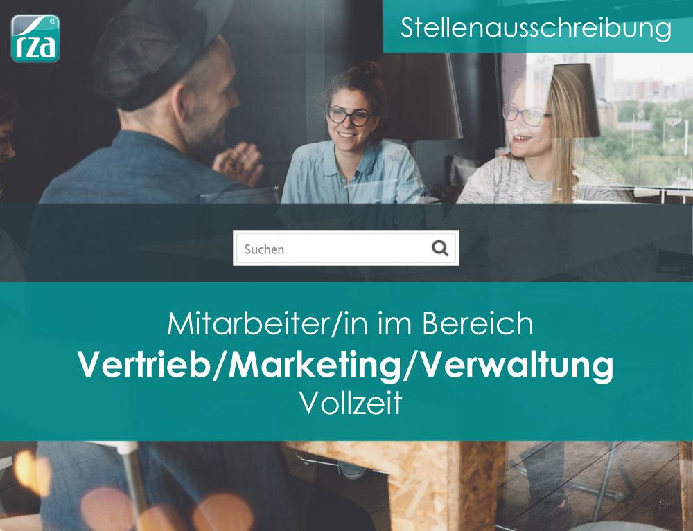 Stellenausschreibung Vertrieb/Marketing/Verwaltung